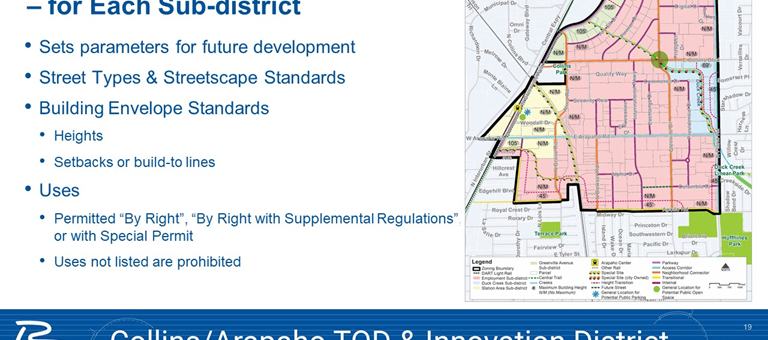 Collins-Arapaho TOD/Innovation District rezoning approved